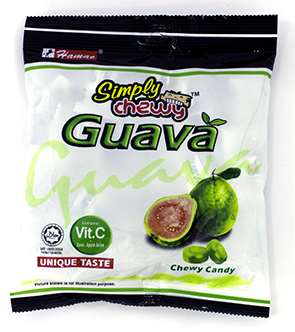 Kẹo dẻo Vị Ổi - Guava Simply Chewy